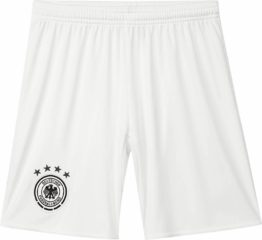 adidas DFB Away Short Youth Auswärtsshort Kinder (Größe: 140, off white/black)