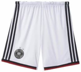 adidas Kinder DFB Homeshort Youth (Größe: 176, white/black/victory red/matte silver)