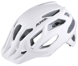 Alpina Garbanzo Fahrradhelm (Größe: 53-57 cm, 10 white)