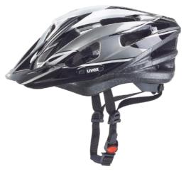 Fahrradhelm uvex Boss Compact (Größe: 53-58 cm, 10 anthracite/black/white)