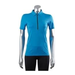 FALKE Poloshirt Experience Damen Laufshirt blau