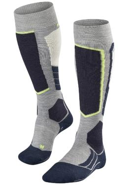 Falke SK2 Wool - Snowboard Socken für Herren - Grau