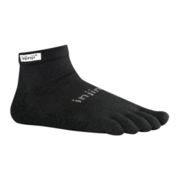 Injinji Lightweight Zehensocke Run Mini Crew blk