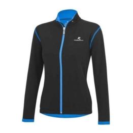 KOSSMANN Arctic Damen Laufjacke schwarz-blau