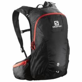 Salomon Trail 20 Wanderrucksack (Farbe: black/bright red)