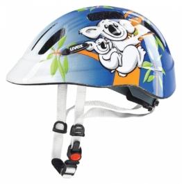 uvex Cartoon Kinder Fahrradhelm (Größe: 49-55 cm, 09 koala)
