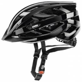 uvex i-vo Fahrradhelm (Größe: 56-60 cm, 02 black)