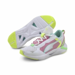 Puma Minima Laufschuhe Damen Trainingsschuhe weiß blau grün